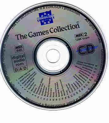 [THE GAMES COLLECTION CD-ROM]