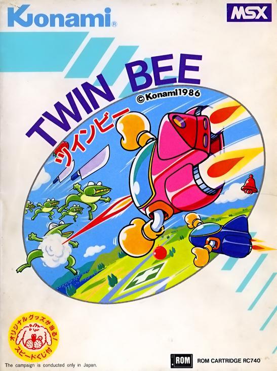 Resultado de imagen de twin bee msx
